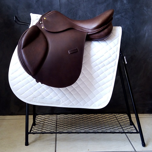 StableGate Saddle Up Jumping Brown