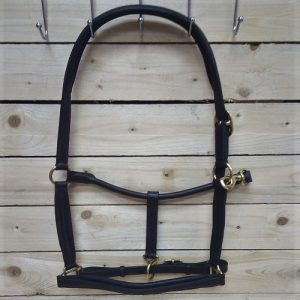 StableGate Leather Halter