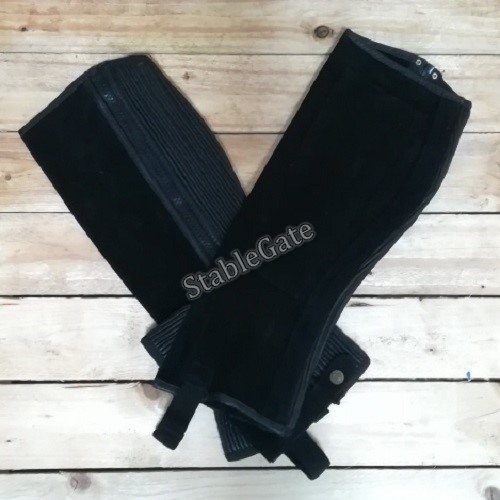 watermarked-StableGate Suede Chaps